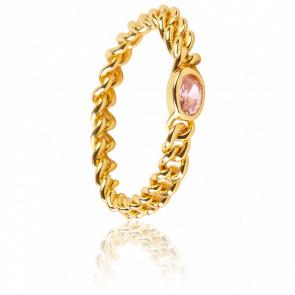 Bague pink Marilyn Gold