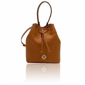 Sac bourse - Bucketbag Apple Ginger Brown