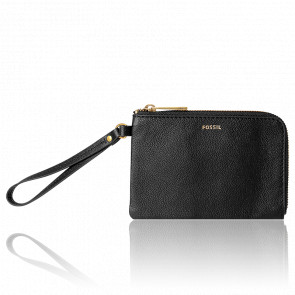 Porte-monnaie cuir noir Tiegan SWL2209001