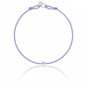Bracelet or blanc energy cordon (choix couleur)