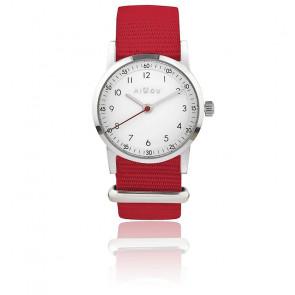 Montre Millow Classique Bracelet Rouge Paris MIL162