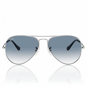 Lunettes de soleil Aviator RB3025 003/3F 58