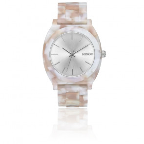 Montre Time Teller Acetate Pink/Silver A327-718-00