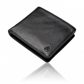 Portefeuille Pass Leather Coin Black - C2973-000-00