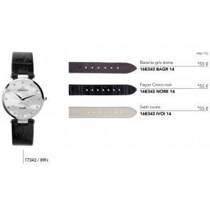 Bracelets en cuir pour montre série 17343