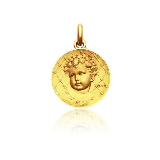 Médaille Enfant Or Jaune 18K