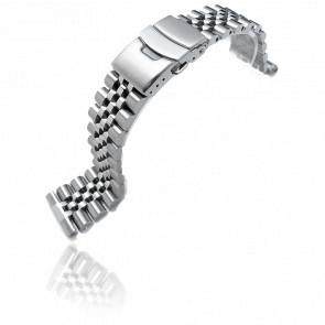 Bracelet  Super-J Louis JUB Stainless Steel SS221803B020S 22mm