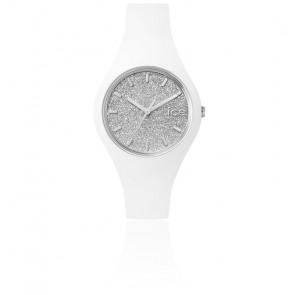 Montre ICE Glitter White Silver 001344