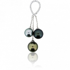 Pendentif Trilogie de Perles
