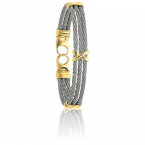 Bracelet Force Tellurique Croisillons
