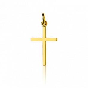 croix simple et sans motif en or jaune ou blanc ocarat. Black Bedroom Furniture Sets. Home Design Ideas