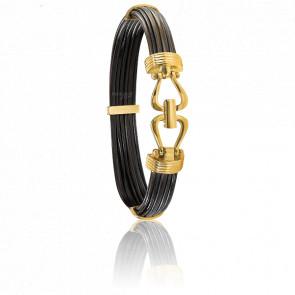 Bracelet 730 Uluru Poils Eléphant & Or Jaune 18K