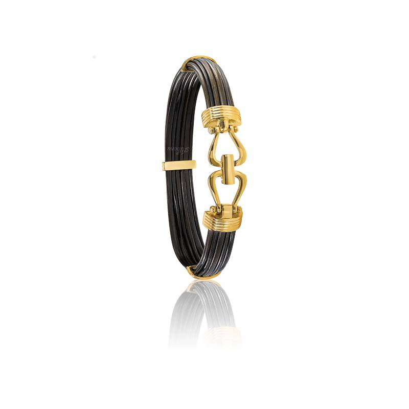 bracelet uluru poils d 39 el phant 9mm albanu ocarat. Black Bedroom Furniture Sets. Home Design Ideas