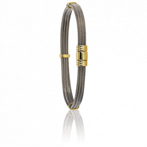 Bracelet 608 Câble & Or Jaune 18K