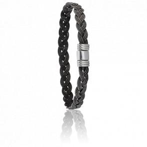 Bracelet 608 Glène Acier Noir