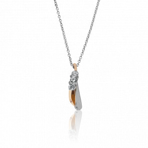 Collier Bari 2 Ors et Diamants