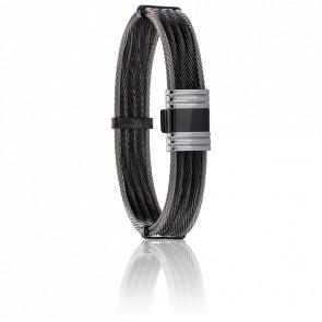 Bracelet 689 Accon Câbles Acier Bicolore