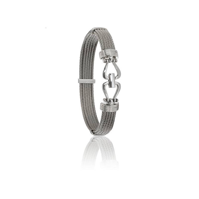 Bracelet 730 Câbles Droits & Acier