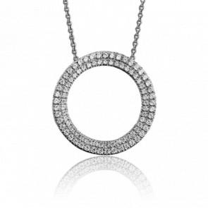 Collier Eclipse Totale 0.50 carat