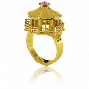 Bague Architecture Pagode Chinoise