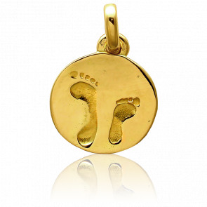 Médaille Accompagnement Petit Modèle Or Jaune 18K - Tournaire