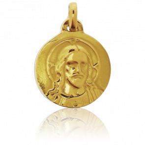 Médaille du Christ Or Jaune 18K