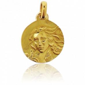 Médaille Vénus Or Jaune 18K