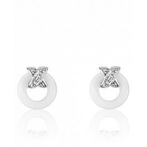 Boucles d'oreilles Xavelite Blanches - Ultimate Ceramic