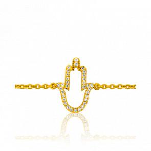 Bracelet Main de Fatma Or Jaune