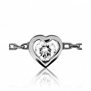 Bracelet Coeur Clos