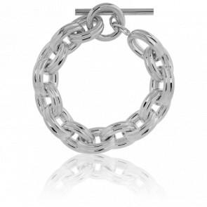 Bracelet Forçat Ovale Double - Artemis