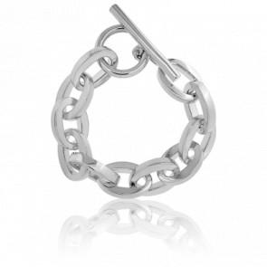 Bracelet Forçat Ovale Rectangle