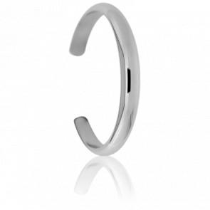Bracelet Demi-Jonc Ouvert 8 mm