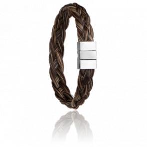 Bracelet Kabardin Crin de Cheval 12 mm - Albanu