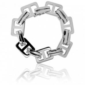 Bracelet Mailles Rectangles