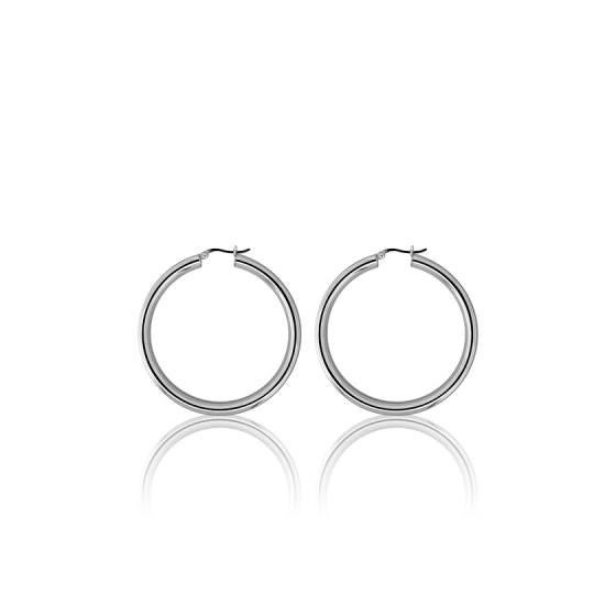 Créoles Argent 50 mm, Boucles d oreilles créoles en argent - Ocarat 6f787f3032c3