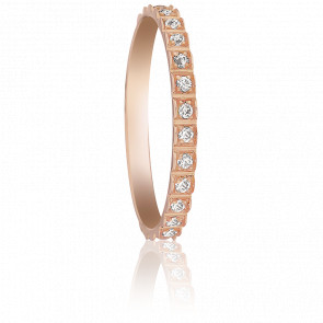 Alliance Guaviare 1 rang Or Rose 0.27 ct