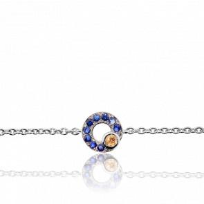 Bracelet Lutties Or Blanc