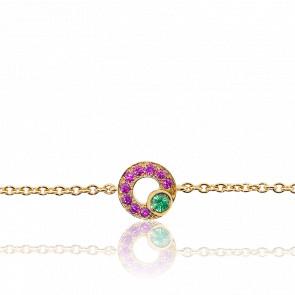 Bracelet Lutties Or Jaune