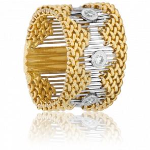 Bague Boboli 2 Ors & Diamants 0,18ct