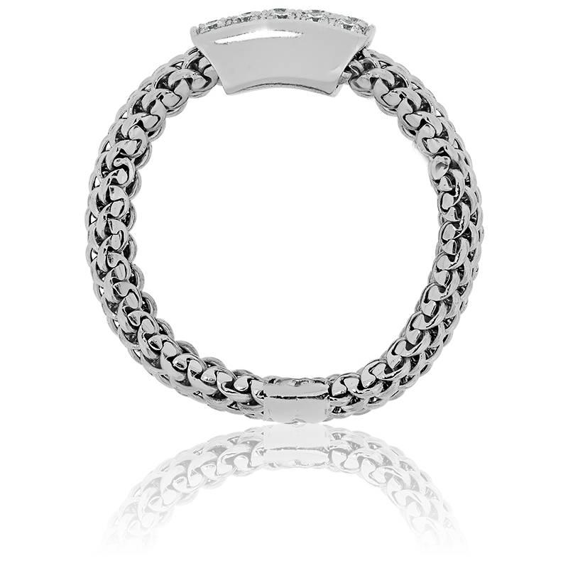bague cha ne elga en or blanc 18 carats diamants. Black Bedroom Furniture Sets. Home Design Ideas