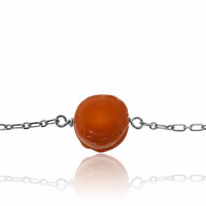 Bracelet Macaron Orange