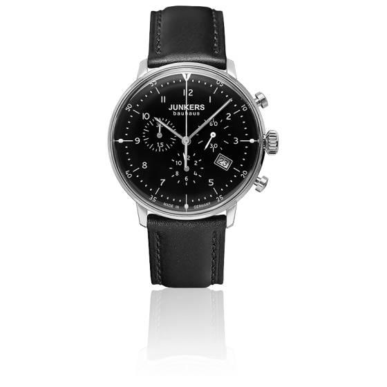 code promo 2571c 0762f Montre 6086-2 Bauhaus Chronograph - Junkers - Ocarat
