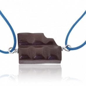 Bracelet Cordon Tablette Croquée