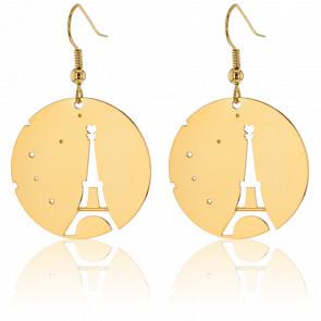 Boucles d'oreilles Fay Eiffel Plaqué Or Jaune - Hornica