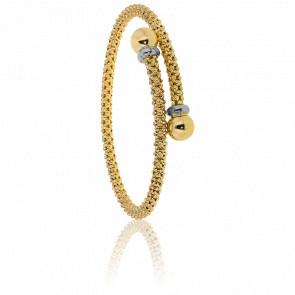 Bracelet Résille, Or jaune 18 carats