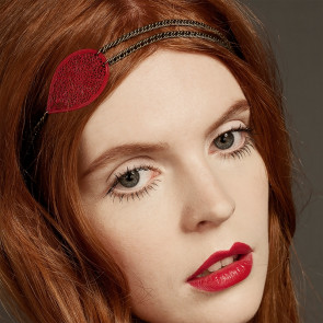Bijou de tête Petit Chaperon Rouge - Rose Guita