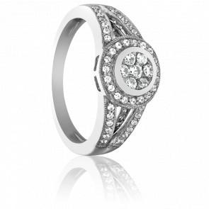 Bague Zuari Or Blanc 18K et Diamants HSI