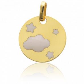 Médaille Ciel Etoilé Or Jaune