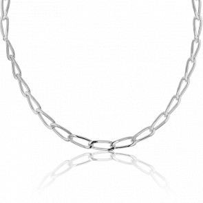 Collier Maille Cheval Argent